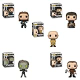 Funko Pop! TV: Game of Thrones S9 Set of 5: Lord Varys, Yara Greyjoy, Bran Stark, Children of The Forest and Gendry