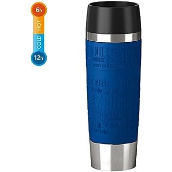 emsa vacuum mug travel mug 12 2 fl oz in blackberry blackberry kitchen dining. Black Bedroom Furniture Sets. Home Design Ideas