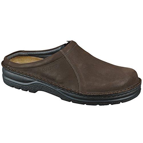 Naot Bjorn Escandinavo Hombres Mocasines Zapatos Oily Brown Nubuk