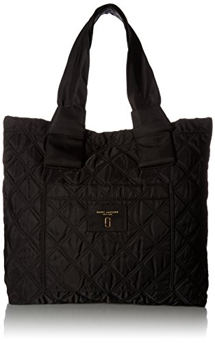 Marc Jacobs Women's Nylon Knot Tote, Black ()