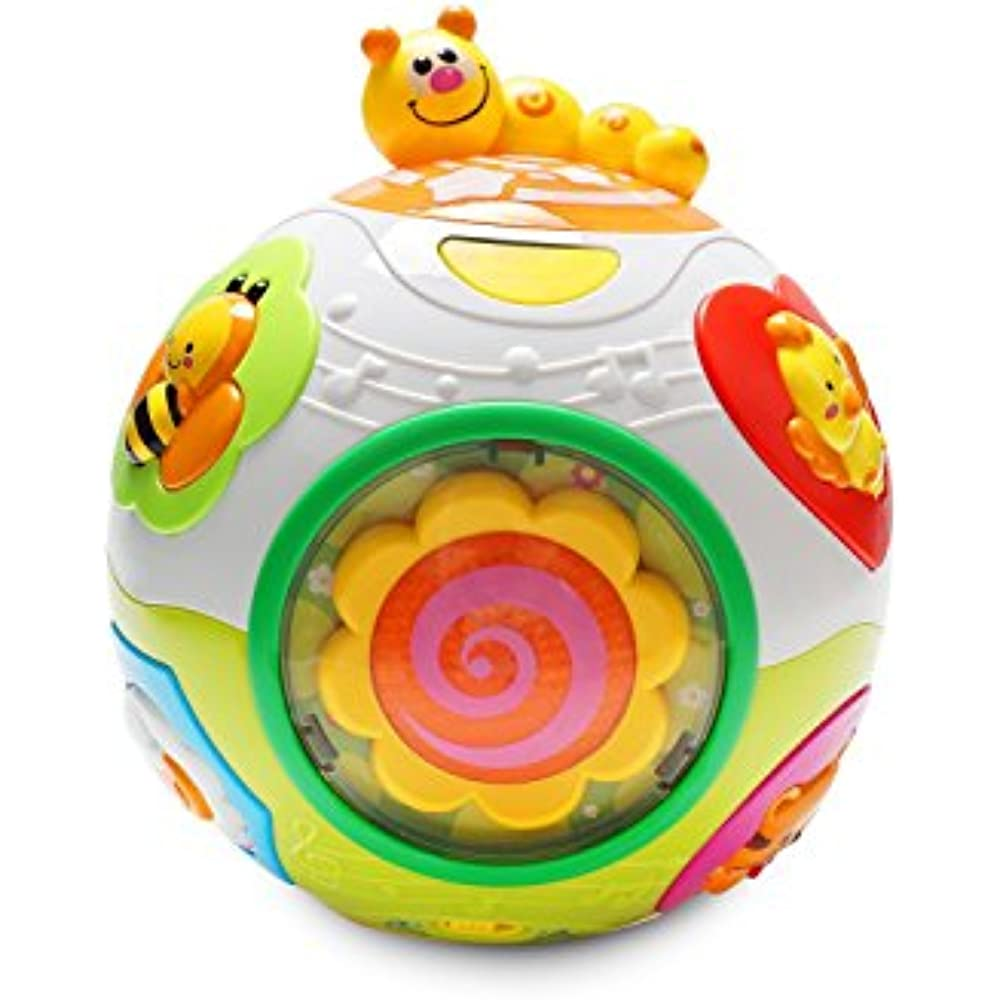 Move And Music Sound Crawl Ball Toys 6 Month Baby Kids Educational