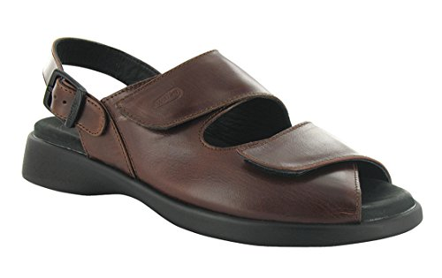 Wolky Womens Nimes Sandal Cafe Smooth Leather Size 41 EU (9.5 M US Women)