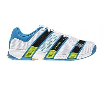 adidas stabil optifit blau gelb schuhe