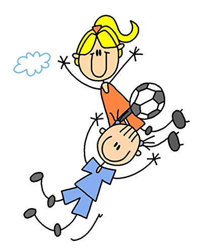 Soccer Is My Sport 2019 Daily Planner: Stick Figure Female Soccer Player Soccer Sports 2019 Daily Weekly Monthly Glossy Cover Planner Calendar Journal Book