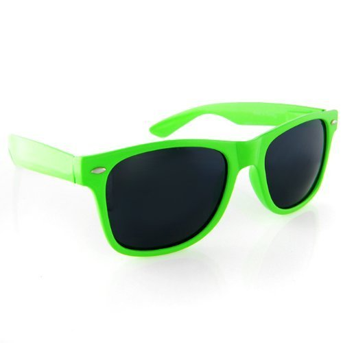 8ff7ed88a20 Neon Green Wayfarer Sunglasses  Amazon.co.uk  Clothing