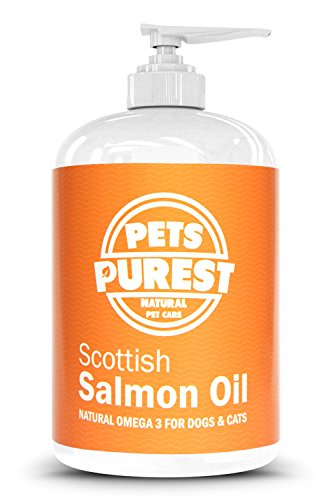 Pets Purest 100% Natural Premium Food Grade Pure Scottish Salmon Oil. Omega...