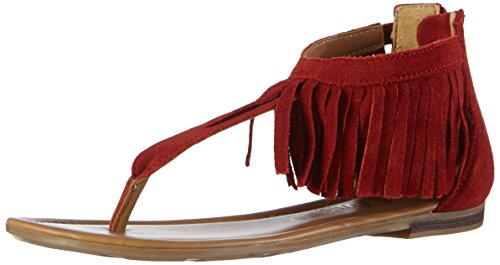 s Mujer Chanclas Rot Rojo 505 RUBY Oliver 28140 trxqwtv