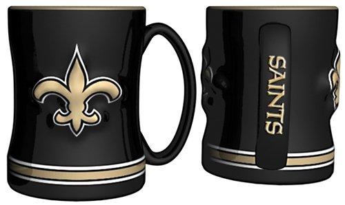 New Orleans Saints Coffee Mug - 15oz Sculpted