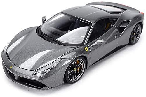 KJAEDL Model Vehicles Die-cast Car Model Ferrari 488 GTB Sports Car Alloy Ornaments ing Original CollectioSimulation Design 1:18