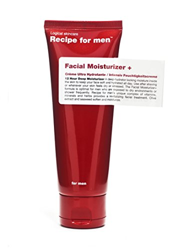 Recipe for Men Facial Moisturizer +, 2.5 fl. oz.