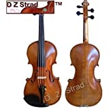 """15.5"""" Handmade D Z Strad Viola Model 400 with $800 Handmade by Prize Winning luthiers (15.5"""" - Size)"""