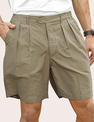 Pro Celebrity Men's Lightweight MF636 Pleated Shorts (42, ()