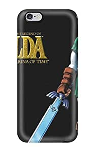 Snap-on The Legend Of Zelda Ocarina Of Time Skin Compatible With Case Cover For Apple Iphone 6 Plus 5.5 Inch