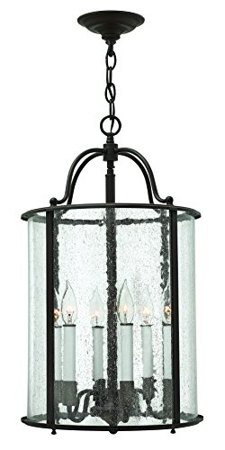 Hinkley 3478OB Traditional Six Light Foyer from Gentry collection in (Traditional Foyer Lights Hinkley Lighting)