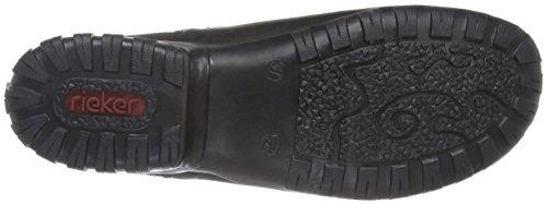 Rieker Z4663, Bottes Femme Noir (Schwarz)