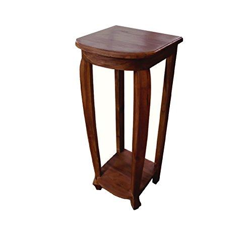 NES Furniture Nes Fine Handcrafted Furniture Solid Teak Wood Aurel Lamp Table / End Table - 30