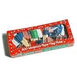 Great Aussie Food Mixed Flagpicks Box 500