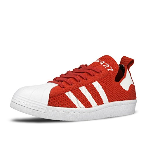 Adidas Originals 80s Donne Superstar Scarpe Primeknit S75427,9
