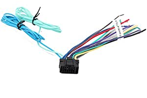 Xtenzi Wire Harness Plug Full 16 Pin Car Stereo For Alpine IVA INA IXA INE Video with Long Cables