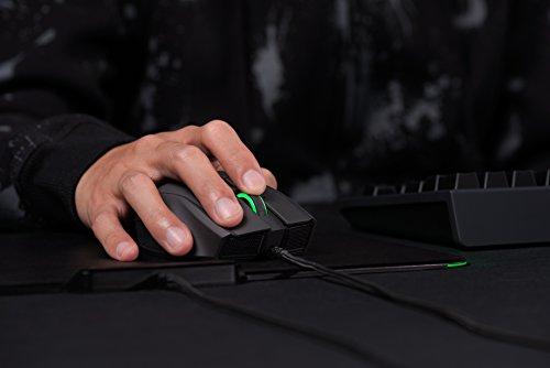 RAZER NAGA HEX V2: cuadrícula de pulgar de 7 botones - 16,000 DPI ajustable - Nuevo factor de forma ergonómico - MOBA Gaming Mouse