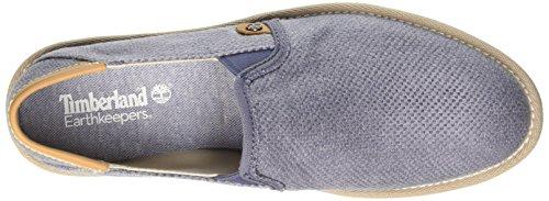 Timberland City Shuffler_city Shuffler Fabric Slip - Mocasines Hombre Azul - Blau (Slate Burlap)
