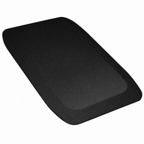 KIDWISE 1.5 Inch Fanny Pads - Black Rubber Safety Mats (Set of 2)