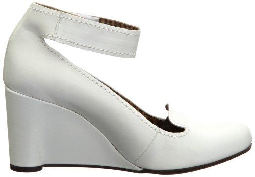 Fly London Gita, Women's Court Shoes Off White
