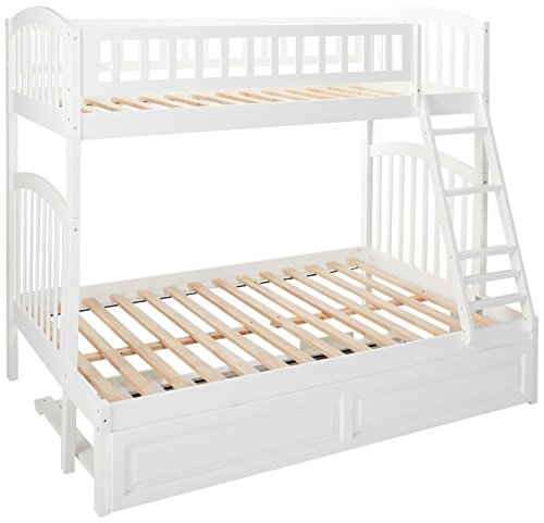 Atlantic Furniture Richland Bunk Twin And Full With RPTDL Wh