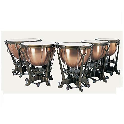 red copper timpani set, professional Timbales, copper timpani drum for sale