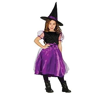 Disfraz de bruja lila infantil: Amazon.es: Juguetes y juegos