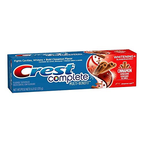 - Crest Cinnamon Toothpaste, 6 Ounce, Pack of 2