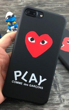 lowest price 4402e 38b6c TN CASES STORE Coque iPhone 6 6S Play Comme des Garçons Coeur Noir ...
