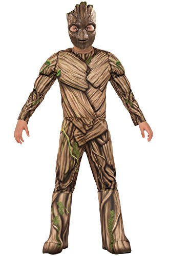 Rubie's Guardians of The Galaxy Vol. 2 Deluxe Muscle Chest Groot Costume, Large