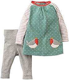 Baby Girls Fall Cute Print Long Sleeve Clothing Set