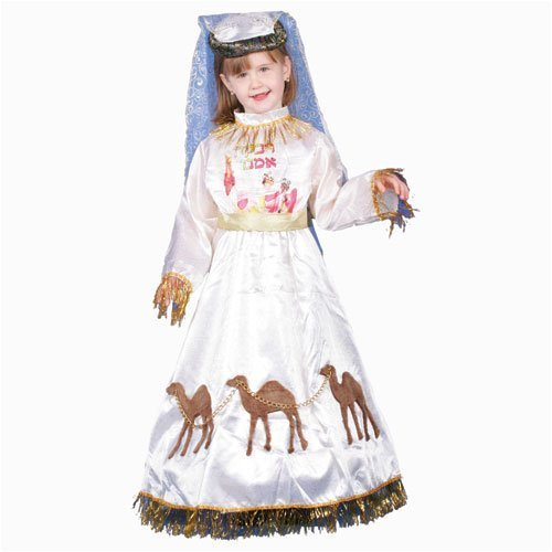 Jewish Mother Rivkah Costume Set - Small 4-6 by Dress Up America ()