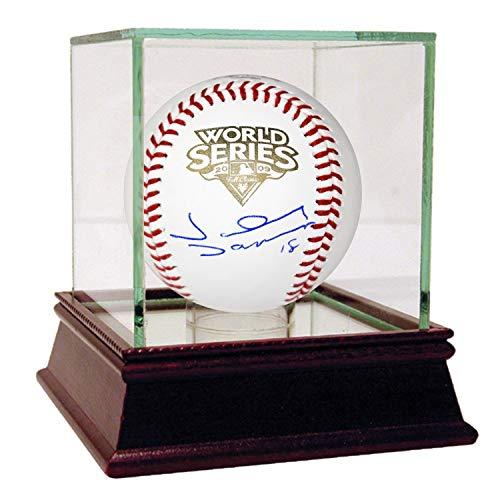 Johnny Damon Autographed Baseball (2009 New York Yankees Johnny Damon Autographed Signed Memorabilia 2009 Ws Baseball Steiner Sports Coa)