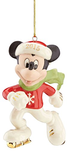 Lenox 2015 Disney's 'Off to the Rink' Mickey Ornament