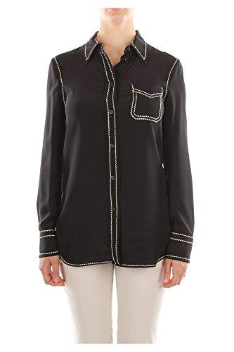 P4985RNEROAVORIO Prada Camisas Mujer Seda Negro Negro