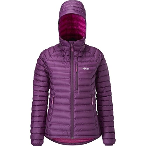RAB Microlight Alpine Jacket - Women's Berry/Tayberry XS/8 from RAB