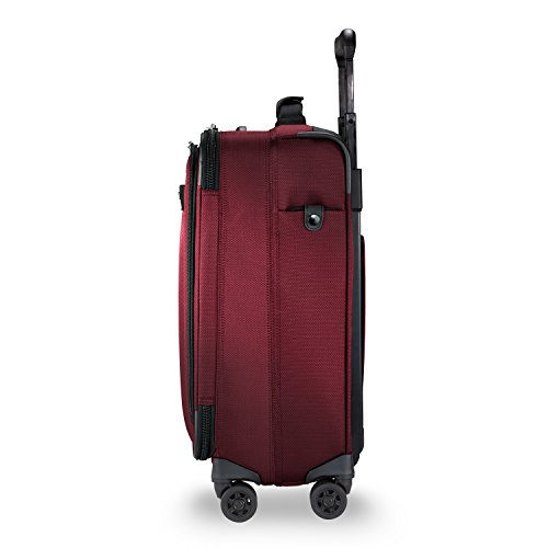 Briggs & Riley Transcend Wide Carry-on Expandable Spinner, Merlot by Briggs & Riley (Image #5)