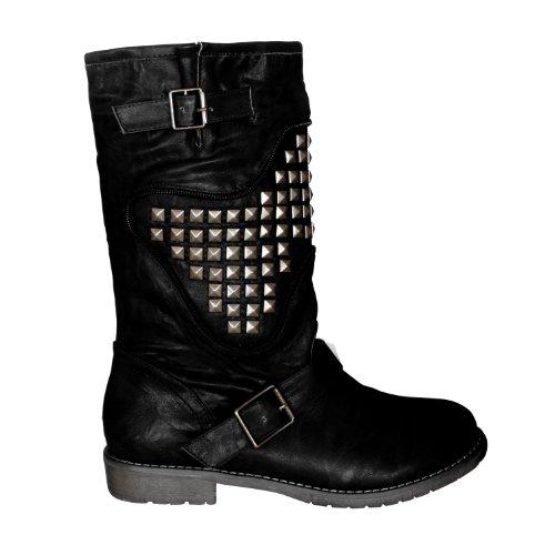 """Waooh - Fashion - Boots """"Enza Nucci"""" DR6048 Simili Leder"""