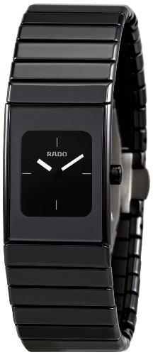 Rado Women's R21540242 Ceramica Black Dial Watch