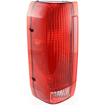 Tail Light for 90-96 Ford F-150 /& 90-97 F-250 /& 90-97 F-350 RH Styleside