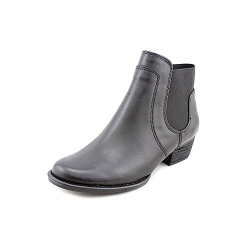 Leather Womens Boots Black Bernini Closed Euston Giani Fashion Ankle Toe qBtc5v6