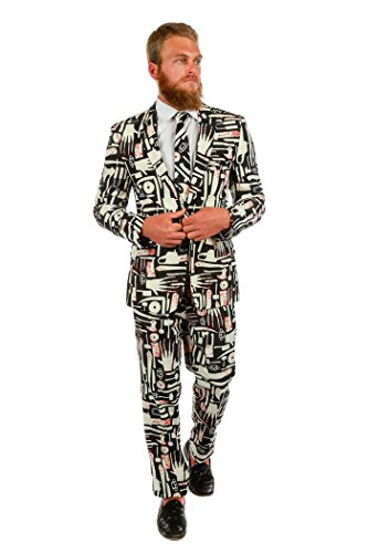 Shinesty The Weapons of Choice Halloween Suit (Jacket, Pants & Tie Included) ()
