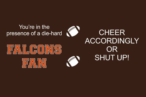 Tree-Free Greetings sg24394 Falcons College Football Fan Sip 'N Go Stainless Steel Lined Travel Tumbler, 16-Ounce by Tree-Free Greetings (Image #1)