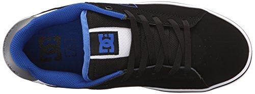 US Shoe Skate 6 Black Men's Notch DC Blue 2 M Grey 8qgpnw