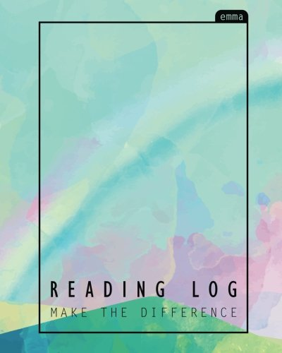Read Online Reading Log: Pastel Over The Rainbow Book Lovers Journal : 110 pages with Book Rating Stars Inside PDF