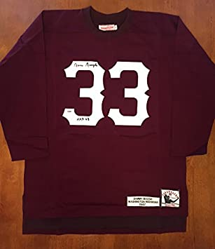 the latest 63cf9 81fea SAMMY BAUGH SIGNED MITCHELL & NESS WASHINGTON REDSKINS ...