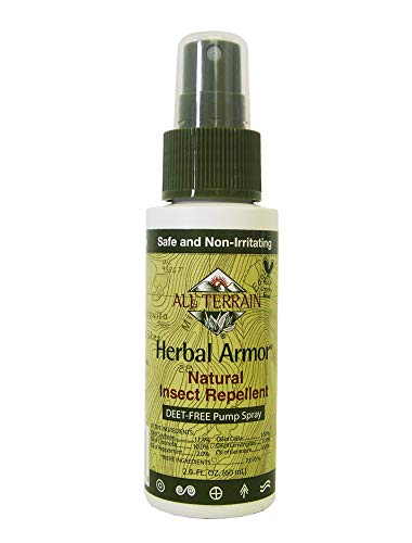 All Terrain Natural Insect Repellent, DEET-FREE Pump Spray, 2 Ounce, Travel-Size